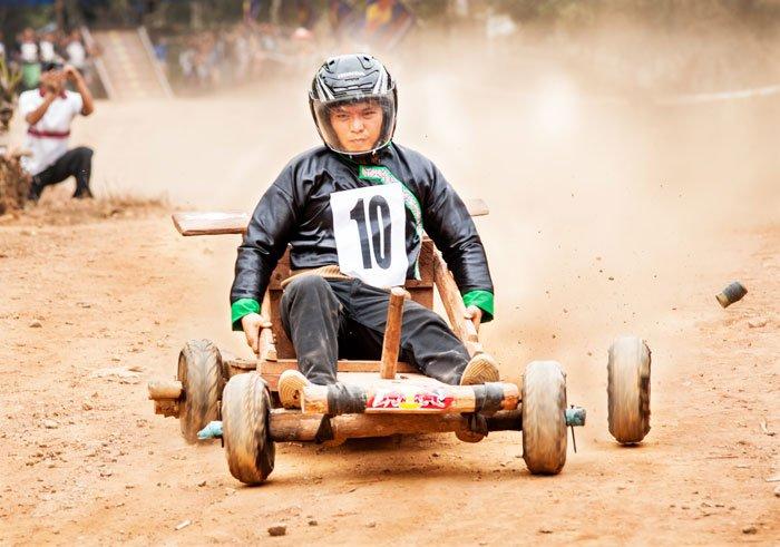Hmong Kart Racing taken during a Chiang Mai Custom Photography Workshop