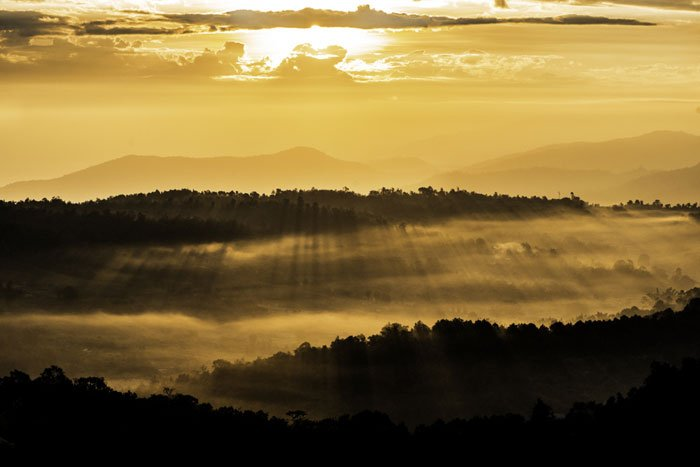 Thai Mountain Sunrise during a custom Chiang Mai Photo Workshop