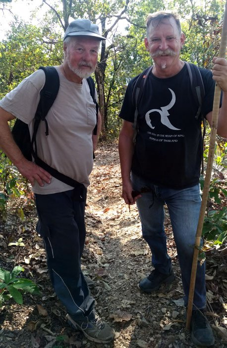 Dave and Kevin on the northern Thai trek The #One Essential Rule for the Best Travel Photos