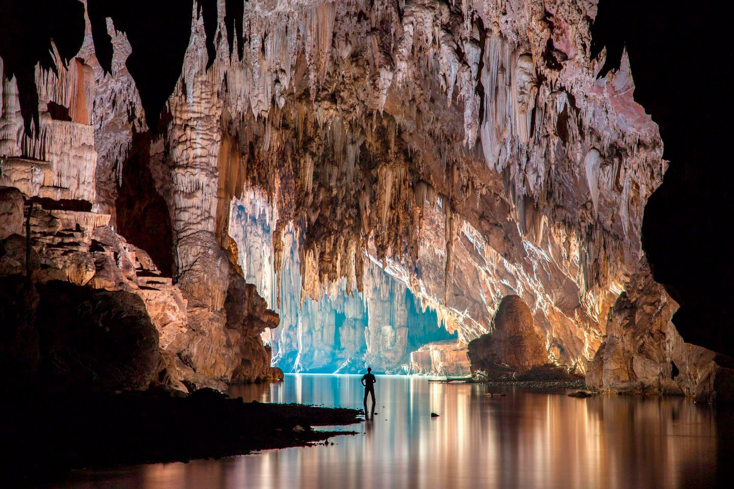 John Spies Cave Pdge cave intrior nothern Thailand