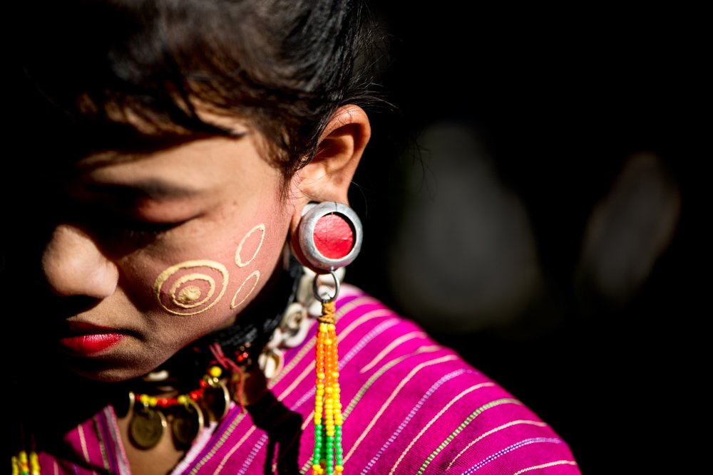 Kayaw Ethnic Minority Girl Exposing Your Creative Intent for More Powerful Photos