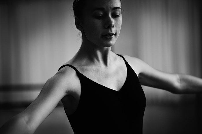 Ballet Dancer in Black and White How the Zone System Can Help You Expose Your Photos Better