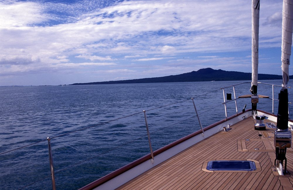 From the deck of a Yacht on Auckland harbour