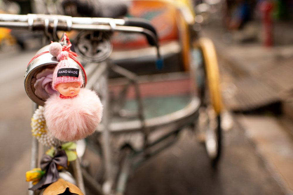 Hand Made Tricycle Taxi Decoration taken during a Chiang Mai Photo Workshop
